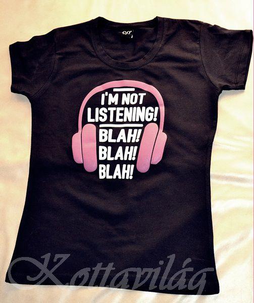 Női póló egyedi vicces grafikával 3af0138141